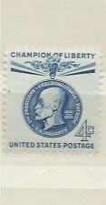 US 1147 4c Thomas G. Masaryk, Czechoslovakia Champions of Liberty 1960 MNH