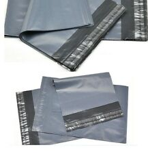 100 Mailing postal bags STRONG 12 x 16 inch (305 x 405) plastic polythene