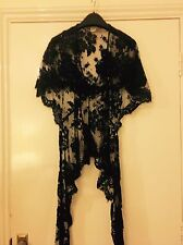 Black Lace Temperley Blouse