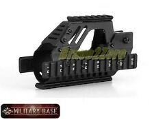 Tactical Quad Rail RIS RAS Handguard for P90 Series Airsoft AEG Rifle