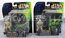 Star Wars Power of the Force Deluxe Hoth Rebel Soldier & Snowtrooper Kenner NIP