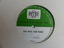 "2X25 CMS 10"" ORTF Light music from France 15/68 16/68 CARAVELLI JACK DIEVAL"