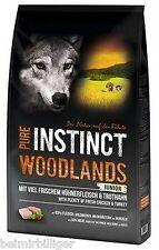 8kg PURE INSTINCT WOODLANDS JUNIOR - Trockenfutter für Welpen mit Huhn&Truthahn