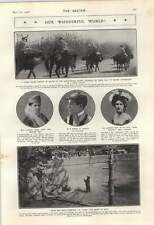 1906 Criminals On Way To Leper Colony Mlle Leonoff Wasp Parties Denise Orme