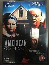 Rod Steiger AMERICAN GOTHIC ~ 1988 John Hough Cult Horror Film UK DVD