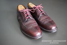 Alden for Blackbird #20461 Short Wingtip Blucher 10.5 B/D MSRP $587 Brogue RARE
