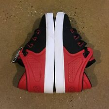 Osiris D3V Kids Size 6 US Youth Red Black White BMX DC Skate Shoes Sneakers