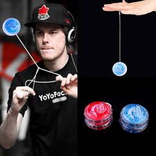 Flashing LED Glow Light Up YOYO Party Colorful Yo-Yo Toys For Kids Boy Gift S4