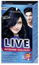 Schwarzkopf LIVE Intense 090 Cosmic Blue Pro Permanent Hair Colour Dye x 1