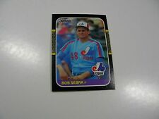 Bob Sebra 1987 Donruss ROOKIE CARD #468