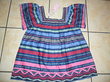 BNWT GIRLS 'MONSOON' STRIPED LINED BLOUSE/TOP 11-12 YEARS 100% COTTON
