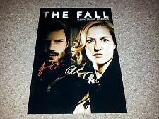 "THE FALL PP SIGNED 12""X8"" A4 PHOTO POSTER GILLIAN ANDERSON JAMIE DORNAN"