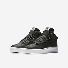 Nike Air Force 1 Mid LV8 Grade School Shoes Size GS 6 Black White 820342 002