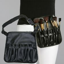 Cosmetic Brush Apron Artist Belt Strap Makeup Holder Pouch Bag Case Professional