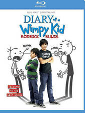 Diary of a Wimpy Kid: Rodrick Rules (Blu-ray Disc, 2011)