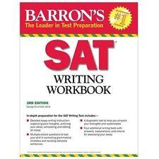 Barron's SAT Writing Workbook, 3rd Edition by Ehrenhaft Ed. D., George
