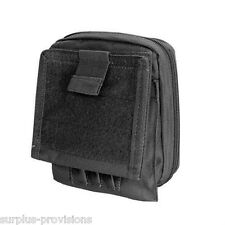 Condor MA35 Tactical Map Pouch Black - Holds pens, documents etc.