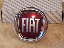 FREGIO POSTERIORE FIAT PUNTO EVO 09 PUSH 95mm originale stemma rear badge escudo