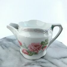 Early Vintage Shaving Scuttle Mug with Roses Made in Bavaria