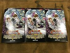 3X Yu-Gi-Oh! Structure Deck Seto Kaiba 2016 Factory Sealed In hand FREE SHIPPING