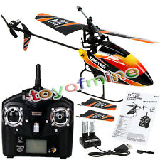 WLtoys 4CH 2.4GHz Radio Mini RC Helicopter with GYRO RTF 8.8*3.3*2.1 Inch Orange