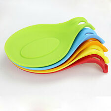 Hot Silicone Heat Resistant Holder Kitchen Cooking Utensils Gadget Tool