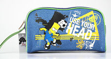 "Kulturtasche Kulturbeutel THE SIMPSONS BART SIMPSON ""Use Your Head"", Stoffbezug"