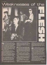 FLESH FOR LULU : magazine INTERVIEW ARTICLE -1984-