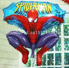 76 Cm Inflatable  Spiderman Flying Figure Toy Foil Balloon Great Fun For Kids