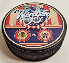 David Rundblad Autographed 2015 Winter Classic Puck