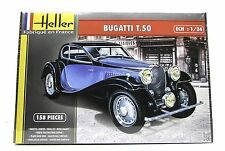 Heller 80706 Bugatti T.50 New Car Plastic Model Kit 1/24