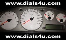 NISSAN ALMERA N16 - (2000-2006) - 240km/h WHITE DIAL KIT