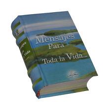 Mensajes para toda la Vida, libro miniatura de fácil lectura 443 ps pasta dura