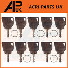 JCB 3CX Ignition Key pack 10pcs for Switch Starter JCB Parts Digger Plant Keys