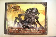 Starship Troopers Arachnid Tanker Bug Mongoose Miniatures Game NEW SEALED