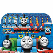 Thomas The Tank Engine Children's Birthday Party Tableware Pack For 16