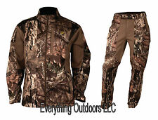 ScentBlocker Men's Knock Out Jacket (XL) & Pant (Large) Set Mossy Oak Country