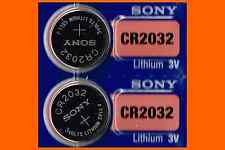 2 Panasonic or Sony CR2032 ECR2032 cr 2032 Lithium Battery 3V Expire Date 2024