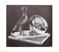 MC Escher Stilleben mit Kugel Poster Kunstdruck Bild 55x65cm