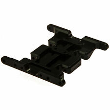 Black Speed Metal Center Skid Transmission Plate For Axial SCX10 RC Crawler Car
