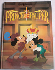 Disney The Prince And The Pauper Twin Books Classic Series 1990