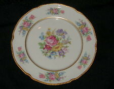 VINTAGE CASTLETON ROSE FINE CHINA DESSERT, SALAD PLATE, FLOWER DESIGN