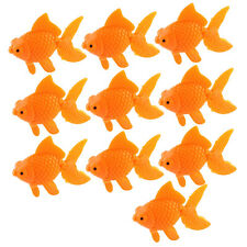 Plastic Fish Tank Ornement artificiel Balançoire Tail Goldfish 10 Pcs