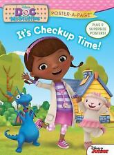 NEW Disney Junior Doc McStuffins: It's Checkup Time! Poster-A-Page by Disney Pap