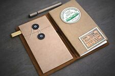 Kraft Envelope Insert for Traveler's Notebook - Midori Planner Accessories