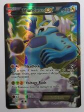 Thundurus EX FULL ART - 98/108 XY Roaring Skies - Ultra Rare Pokemon Card