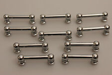 New Vintage Style Tube Lugs Chrome over Solid Brass Snare Drum