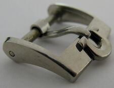 """Swiss Omega buckle in stainless steel 14 millimeters """"shoe horse"""""""
