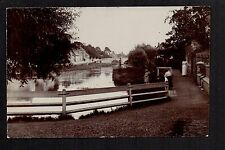 Market Deeping - real photographic postcard
