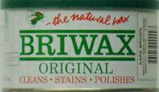 BRIWAX ORIGINAL FORMULA PASTE WAX  *DARK BROWN*  1 lb CAN  BR-1-DB